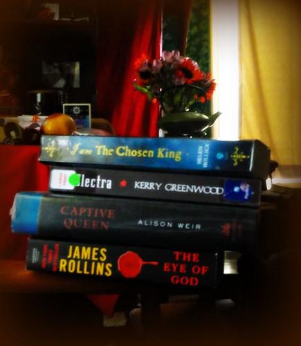 James Rollins book fan photo