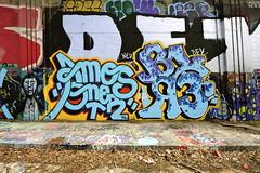 AMOS, ONER, BLER (STILSAYN) Tags: california graffiti oakland bay east area amos bler 2014 oner