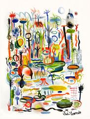 Sin Ttulo (Andr Coronado) Tags: illustration watercolor drawing dibujo