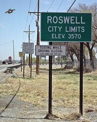 Alien Hunting (JetMan_Dave) Tags: roswell ufo aliens