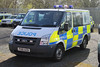 Cumbria Police Ford Transit Cage Van (PFB-999) Tags: ford station cell police cage cumbria transit vehicle leds van vectors grilles workshops unit strobes lightbar constabulary rotators fendoffs px61azb