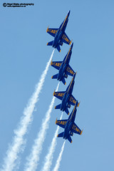 "The US Navy ""Blue Angels"" (Nigel Blake, 12 MILLION...Yay! Many thanks!) Tags: blue usa canon team display florida smoke navy jet airshow angels hornet boeing blake douglas blueangels nigel pensacola jetfighter mcdonnell fa18 sunnfun canoneos1dsmkiii 600mmf4is nigelblake nigelblakephotography"