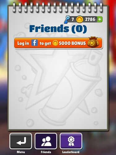 Subway Surfers Social: screenshots, UI