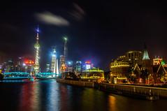 Lights of Shanghai (David Baggins) Tags: nightphotography nightlights shanghai   pudong