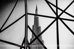Burj Khalifa, Dubai, United Arab Emirates (Seven Seconds Before Sunrise) Tags: travel bw architecture asia dubai uae middleeast unitedarabemirates myuae burjkhalifa mydubai