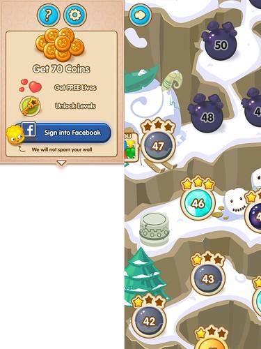 Jelly Splash Social: screenshots, UI