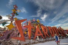 Neon Boneyard (Mike Hume) Tags: vegas sign neon lasvegas casino hdr neonmuseum neonboneyard