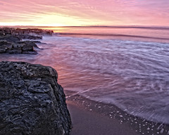 Risser's Sunrise (DASEye) Tags: beach sunrise dawn nikon novascotia ns rissersbeach dayseye davidadamson