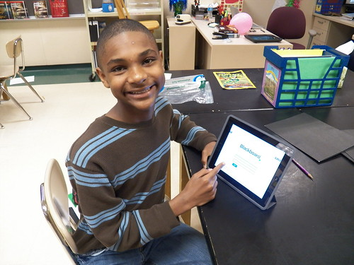 Sand Creek Intermediate student working by TownePost Network, on Flickr