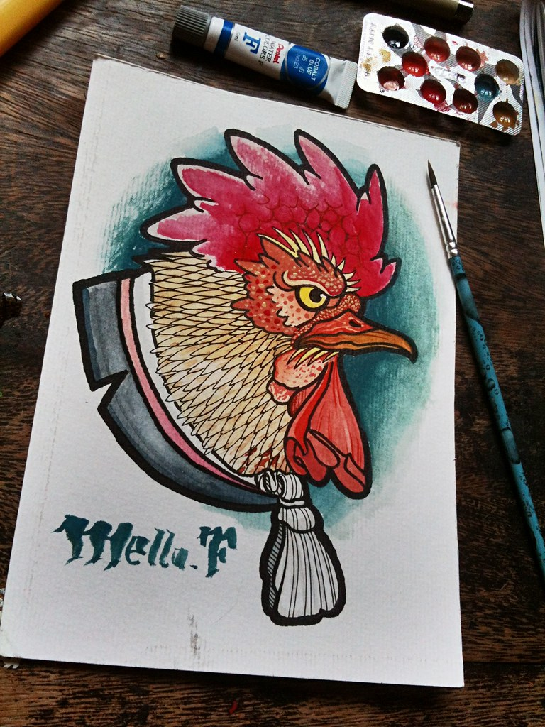 a4148749d The World's newest photos of rooster and tattoo - Flickr Hive Mind