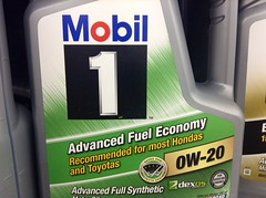 Mobil 1 Synthetic Motor Oil (JeepersMedia) Tags: mobil mobiloil syntheticoil mobile1