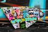 stickers.... (wojofoto) Tags: amsterdam streetart wojofoto stickers stickerart stickercombo nederland netherland holland wolfgangjosten wojo sticker nol tona vinylone isoe