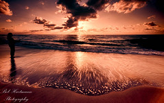 Sunrise Surfcasting (BobHartmannPhotography) Tags: usa sunrise fl 1365 redreefpark bobhartmann wwwbobhartmanncom bobhartmannphotography bobhartmanncom