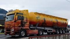A - Silo Melmer >Rudolf Diesel< MAN TGX XXL (BonsaiTruck) Tags: man tirol diesel bahnhof silo camion trucks motor rudolf xxl airbrush bulk pitztal lorries lkw patent ffb imst citerne reutte tgx melmer feldbinder powdertank