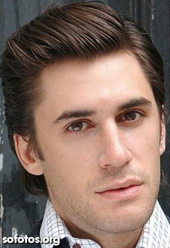 corte de cabelo masculino liso social