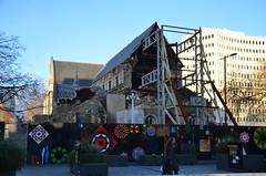 La cathédrale depuis le tremblement de terre de 2011