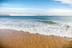 Dune du Pilat (Nicolas Lbts) Tags: sea sky mer france beach canon ferret sand 33 dune sable wave ciel cap 5d tamron vague pla