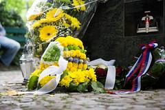 Senna Tribute Imola 2014 (VJ Photography) Tags: park statue aqua anniversary da tribute circuit senna 20th silva motorsport ayrton 2014 imola minerali