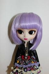 Violetta's Crazy Hair (GroovyBlue) Tags: hello doll kitty groove pullip tokidoki violetta