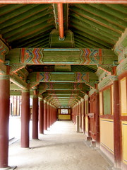 Does the walker choose the path, or the path the walker? (foto_fete) Tags: travel holiday canon asia powershot southkorea canonpowershot kyongju