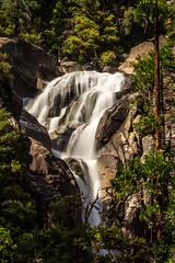 """Cascade Creek Waterfall"" (Stitcher) Tags: longexposure waterfall timeexposure le yosemite blackglass nd1000 45seconds cascadecreekfall"