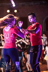 David and Paulina - 2014 Taipei Salsa Festival (David and Paulina) Tags: david art mexico couple lift dancers champio