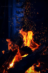 Embers (Photography.by.Sara) Tags: life camera camping hot night dark fire photography evening nikon flames burning campfire flame burn charcoal sin ember coal dslr breathe spark sins embers d600 nikond600 eveningembers