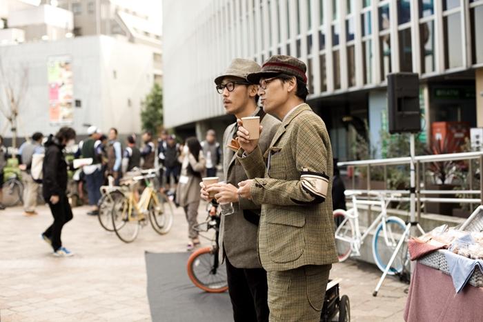 tweed run street style tokyo