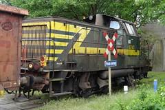 NMBS Diesellocomotive N 8247 shunting at the port of Genk near Aperam. (Franky De Witte - Ferroequinologist) Tags: de eisenbahn railway estrada chemin fer spoorwegen ferrocarril ferro ferrovia