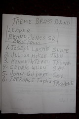 Treme Brass Band (2014) 14 - lineup