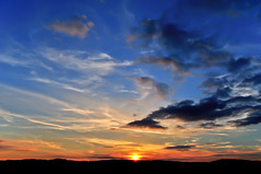 Sun Vac (Dave McGlinchey) Tags: sunset sky sun water clouds nikon skies sundown cloudy atmosphere waterdroplets atmospheric icecrystals cloudscapes optic d5000 cloudsstormssunsetssunrises sunvac pwpartlycloudy sunsetvac