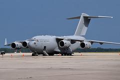 1225 Boeing C-17 UAE Air Force (n707pm) Tags: usa airplane orlando airport florida aircraft military uae c17 boeing globemaster airforce unitedarabemirates transporter 1225 mccoy kmco 30052014