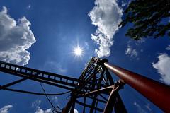 _DSC8272 (sara97) Tags: sun tower clouds bluesky broadcasttower photobysaraannefinke copyright©2014saraannefinke