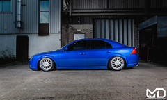 Will's Mondeo ST (Matthew_Dear) Tags: auto ford car st culture automotive static modified enthusiast lowered slammed mondeo mk3 tdci stanced