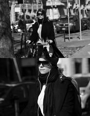 [La Mia Città][Pedala] (Urca) Tags: portrait blackandwhite bw italia milano bn ciclista biancoenero bicicletta 2014 6265 pedalare dittico ritrattostradale