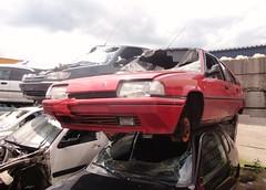Citron BX 19 GTI 16V 1988/93 (Fuego 81) Tags: mars car yard citron junkyard gti wreck recycling scrap zwolle schrott arn bx epave schrottplatz autowrak schroot autosloop autoverwertung autosloperij autodemontage abwrack