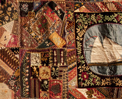 Crazy Quilt detail (mqumag) Tags: tqm