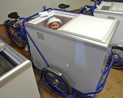 Ice-Ice-Baby (@WorkCycles) Tags: baby holland ice dutch amsterdam bicycle kid child cream icecream trike freezer ijs cargobike bakfiets workcycles