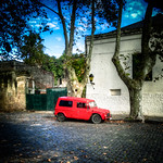 The red does it (Colonia del Sacramento, Uruguay)