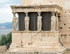 Porch Of the Caryatids - Erechtheion - Acropolis - Athens (BlueVoter - thanks for 2.5M views) Tags: athens acropolis caryatids erechtheion atene