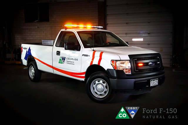 new ford logo colorado natural f150 gas vehicles transportation department branding cng