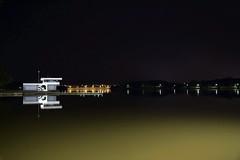 Lake Ginninderra Coast Guard (CawlsPics) Tags: winter lake water night lights coast boat capital guard australian australia canberra act territory ginninderra belconnen 2014 cawley cawls