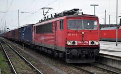 155 011 Magdeburg 05.04.2014 (hansvogel51) Tags: train germany deutschland eisenbahn db magdeburg br155 eloks