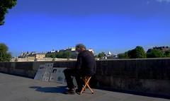 Paris- Quais (Lo-li-tavie) Tags: paris peinture promenade artiste