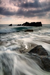 Watching Over Me. (Rich Clark | Images) Tags: ocean longexposure sea england beach church beautiful flow coast seaside rocks cornwall christ cove jesus watching smooth atlantic christian experience rugged jesuschrist kernow churchcove gunwalloe coastalphotography