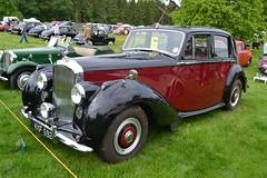 Bentley MkVI - 1952 (jambox998) Tags: 6 castle classic car mark scottish plate historic reg iv extravaganza registration borders 42nd motoring 692 mxf thirlestane bvac