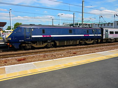Peterborough (DarloRich2009) Tags: dor peterborough cambridgeshire eastcoast ec eastcoastmainline ecml class91 91118 peterboroughstation directlyoperatedrailways