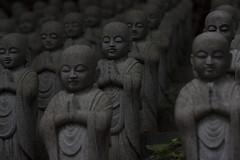 Waiters (wookeeh) Tags: japan religious buddha buddhist praying statues spiritual waiter statuettes