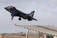 ZB603_HarrierT8_RoyalNavy_EGDY_Img03 [Explored] (Tony Osborne - Rotorfocus) Tags: arm air united navy royal kingdom british fleet naval hawker aerospace harrier squadron t8 yeovilton 899 siddeley rnas zb603