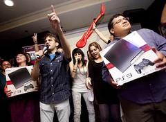 Angy en la Gran final de SingStar